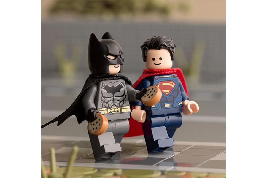 لگوی سوپرمن و بتمن (batman,super man)